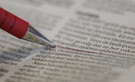 de rode pen